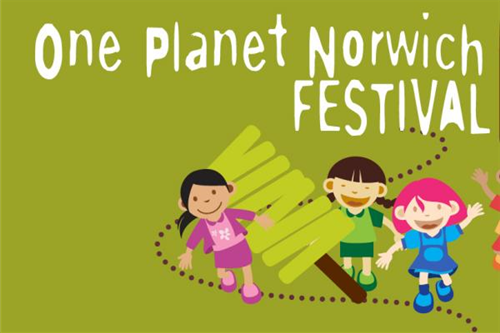 A great weekend at the One Planet Norwich festival