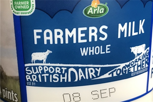 Arla UK changing labels to tackle food waste