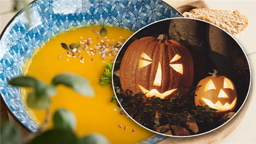Beat horror of Halloween food waste with this pumpkin soup recipe